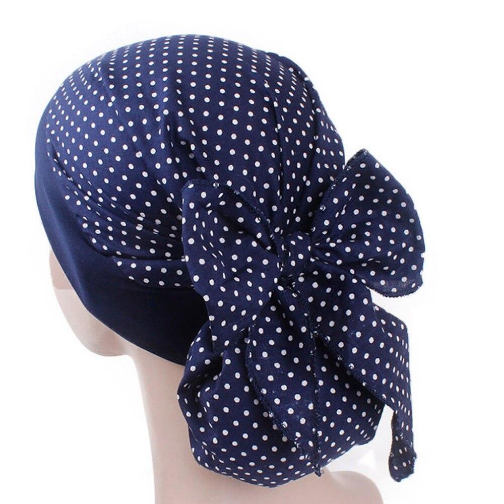 Womens Chemo Hat Turban Head Scarves Pre-Tied Headwear Bandana Elastic Band Soft
