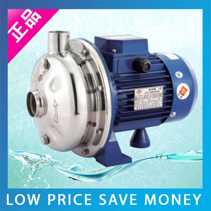 WB70 075D AC 220V Self priming Centrifugal Water Pump SS304 Clean Water Pump For Water System