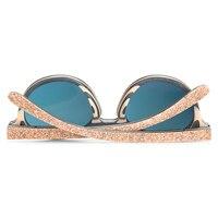 Gafas de sol mujeres en madera retro 3
