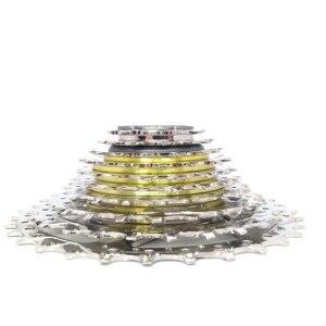 Image 3 - كاسيت دراجة جبلية 7/8/9/10 من DNP كاسيت 7s 8s 9s 10 s 11 28T 11 32T عجلة حرة 28t 32t دولاب الموازنة عجلة برجية قابلة للطي متعددة