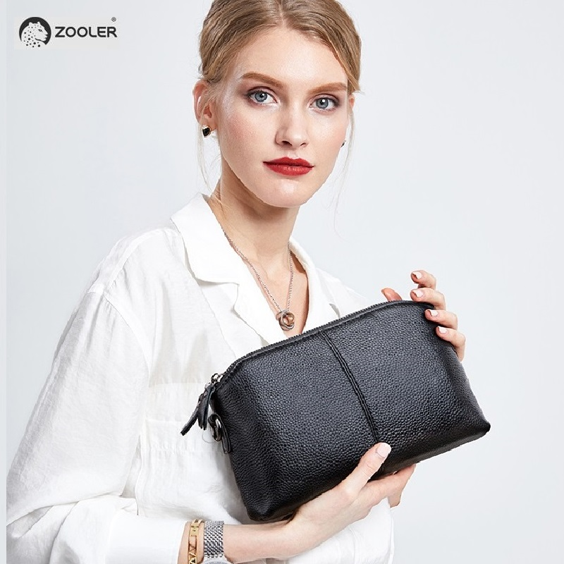 ZOOLER genuine leather clutch bags for women 2019 New Genuine Leather small shoulder bag Business day