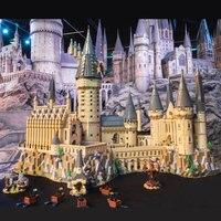 Lepin 16060 Harry Movie Potter Magic School compatible with Lego 71043 Hogwarts Castle Set Building Blocks Model Kids Toys Gift