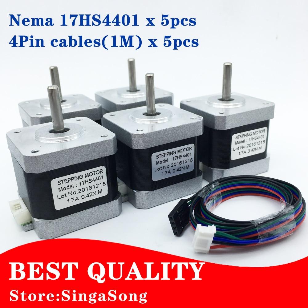 Acquista all 39 ingrosso online nema 17 stepper motor da for Nema 15 stepper motor