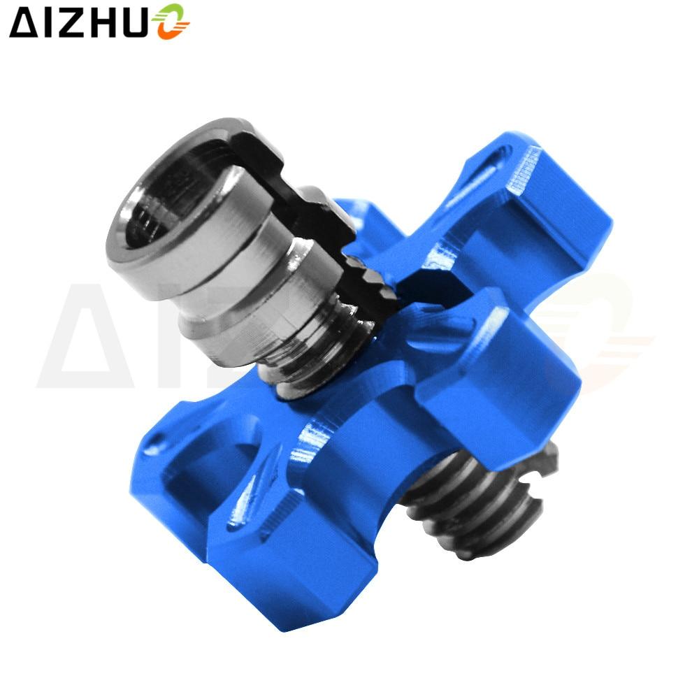 Motorcycle Clutch Wire Adjustment Cable CNC Aluminum M8 M10 For Suzuki GSR 600 750 SV 650 1000 SV1000 DL650 V-strom 650 1000 воздушный фильтр hi flo hfa3611 dl650 1000 v strom