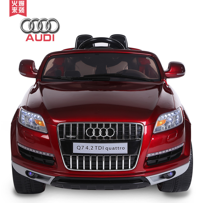 For Audi Q Four Wheels Childrens Electric Car Charging Drive With - Audi electric toy car