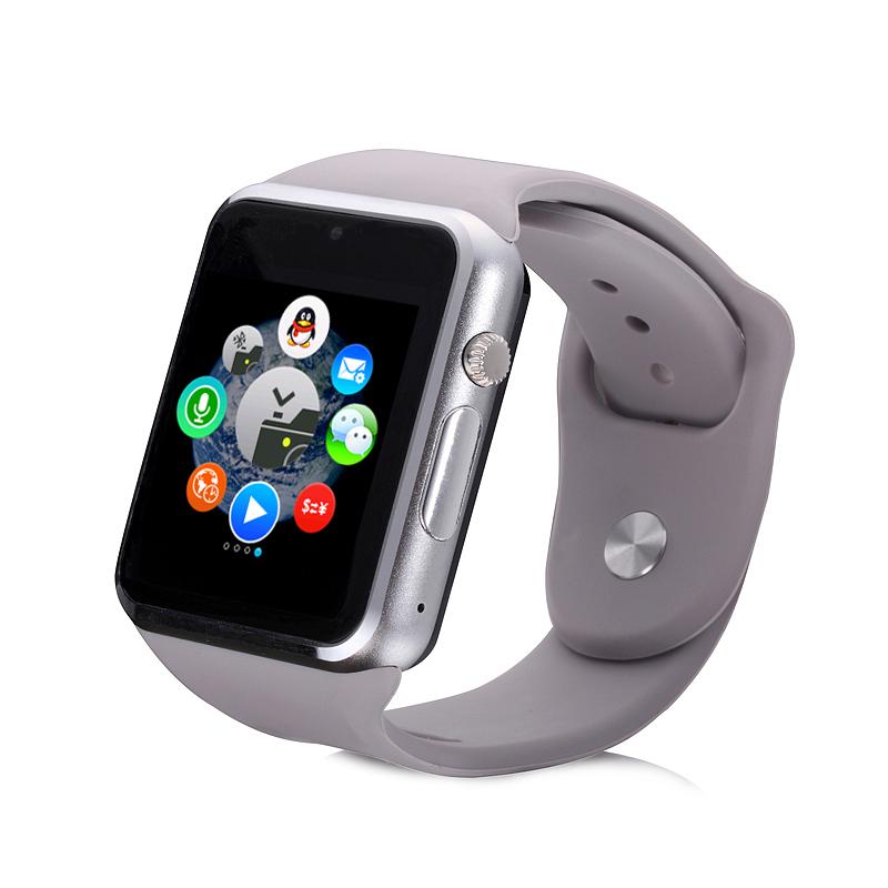 2pcs Colors Strap Smart Watch Health Smartwatch Phone Waterproof GSM SIM Q8 Camera Video Bluetooth NFC Pedometer Lady Men Women In Watches From