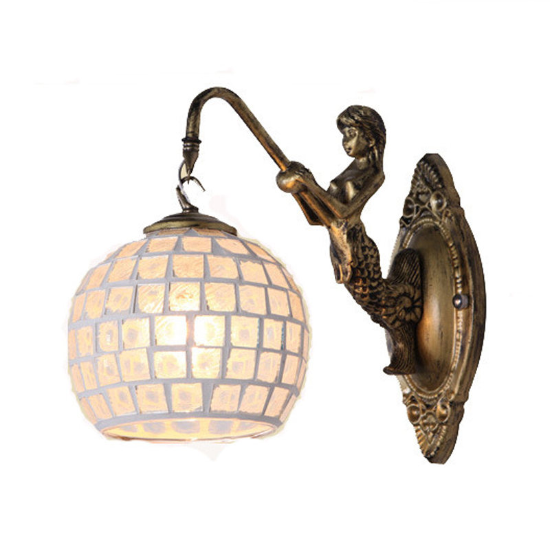Retro Mediterranean Style Decoration Turkish Mosaic Lamps Handmade Stained Glass Sconces Antique Wall Lights For Home LightingRetro Mediterranean Style Decoration Turkish Mosaic Lamps Handmade Stained Glass Sconces Antique Wall Lights For Home Lighting