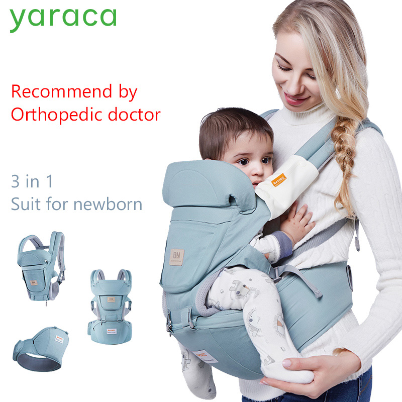Baby Hipseat For Newborns 3 in 1 Ergonomic Baby Carrier For 0-36 Month Load Bearing 36kg Wrap Sling For Children arrivals 1 36kg