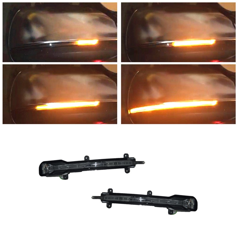 Dynamic LED Indicator Rearview Mirror Turn Light Signal Repeater Suitable for Audi Q5 8R Q7 4L 2008 2015 Car Styling Accessories