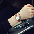 New Fashion Brand Leather Strap Women Dress Watches Quartz Watch Waterproof Mini Clock Wristwatch