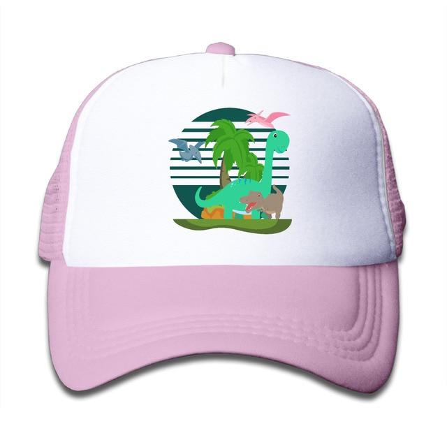 7e4cd510c2079 Trucker Hats Baseball Cap Tumblr Snapback Dinosaur Dino T-Rex Children  Girls Boys Bone Caps Tumblr Cap Anime Mesh Hat