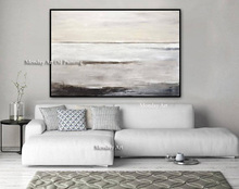 Abstract Painting Contemporary Artwork Sky Whitman free shipping Art Oil Original Large Gray Vertical Textured Design