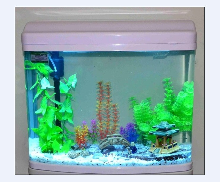 Minjiang aquarium fish tank Bora R3480 Desktop ecological small