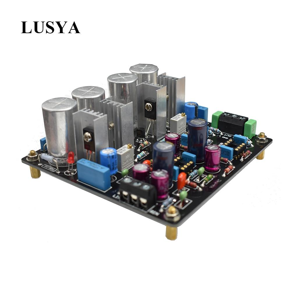 Lusya HIFI Fever M4C Class A Amplifier Amplificador OPA2604AP Op amp Preamp Amplifier Board T0053