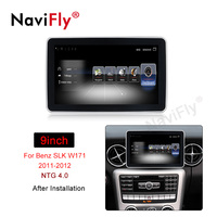 Navifly Quad core Android Car audio radio cassette for BENZ SLK W171 2011 2012 car gps navigator Multimedia player free shipping