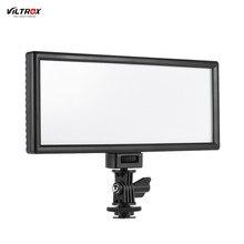 VILTROX – lampe vidéo professionnelle Ultra-mince LED L132B, luminosité de remplissage CRI95 + pour Canon, Nikon, Sony, appareil photo DSLR