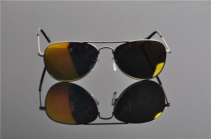 Детская UV400 поляризованные со специальным покрытием для гонок солнечные Горячие модная детская одежда пилота зеркала солнцезащитные очки с Чехол Ткань EV0831 - Цвет линз: orange lens