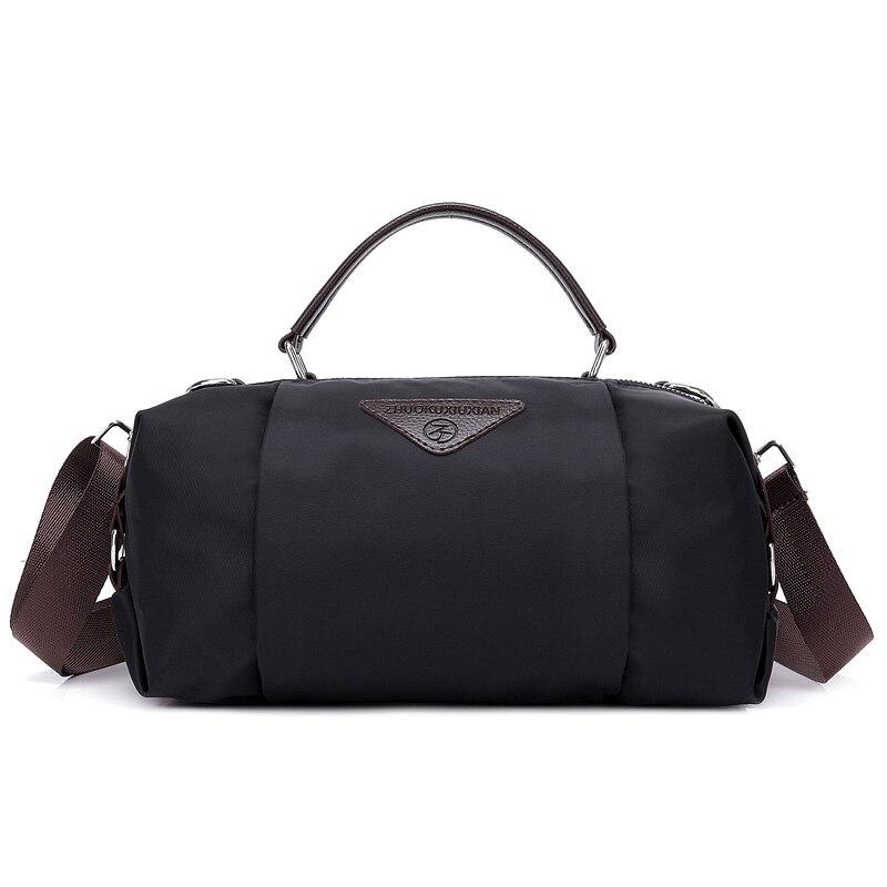 Nylon Travel Crossbody Bag Men Luggage Duffle Shoulder Bags Handbag Weekend Top-handle Bags Women Multifunctional Tote