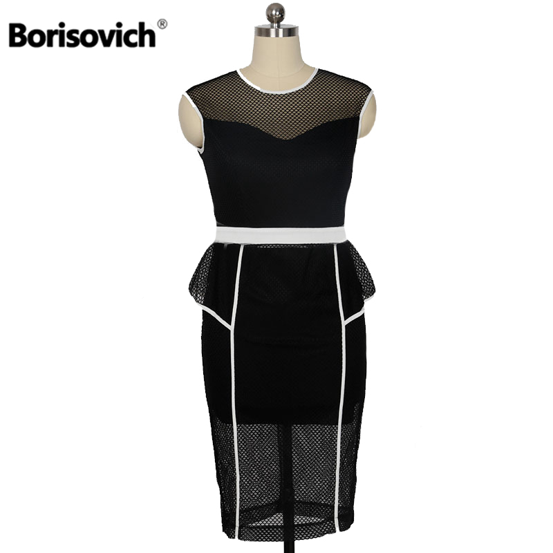 Borisovich Brand New 2017 Summer Fashion Hollow Out Delgado Sin Mangas de Las Se