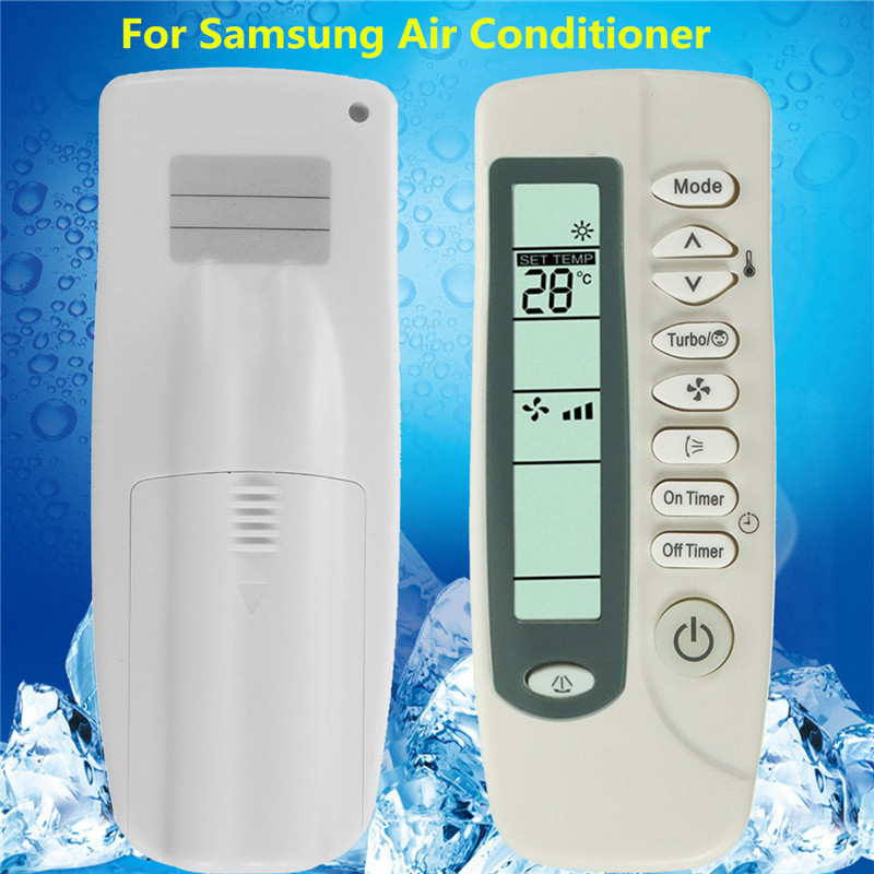 Universal Remote Control Suitable For Samsung Air Conditioner ARH-428 454 ARC-701 406 755 Air Conditioning Parts universal 1 5 lcd air conditioner a c remote control controller white 2 x aaa