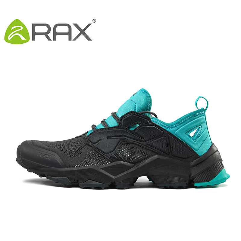 ФОТО RAX 2017 Breathable Summer Hiking Shoes Men Outdoor Antiskid Trail Shoes Women Sports Shoes Durable Climbing Shoes Men Women