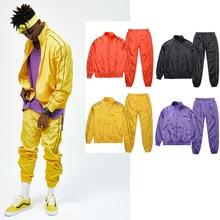 2017 Fashion Europe street streetwear Thin Coat mens jackets and coats clothes hip hop zipper Hip hop Waterproof Coats suit