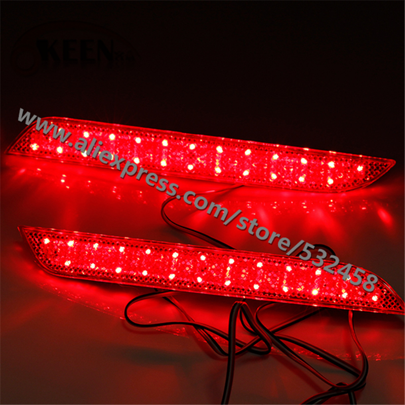OKEEN Brand High Quality LED Rear Lihgts Automobiles Red Bumper Reflector Lights Tail Light Parking Warning For BMW 3 series