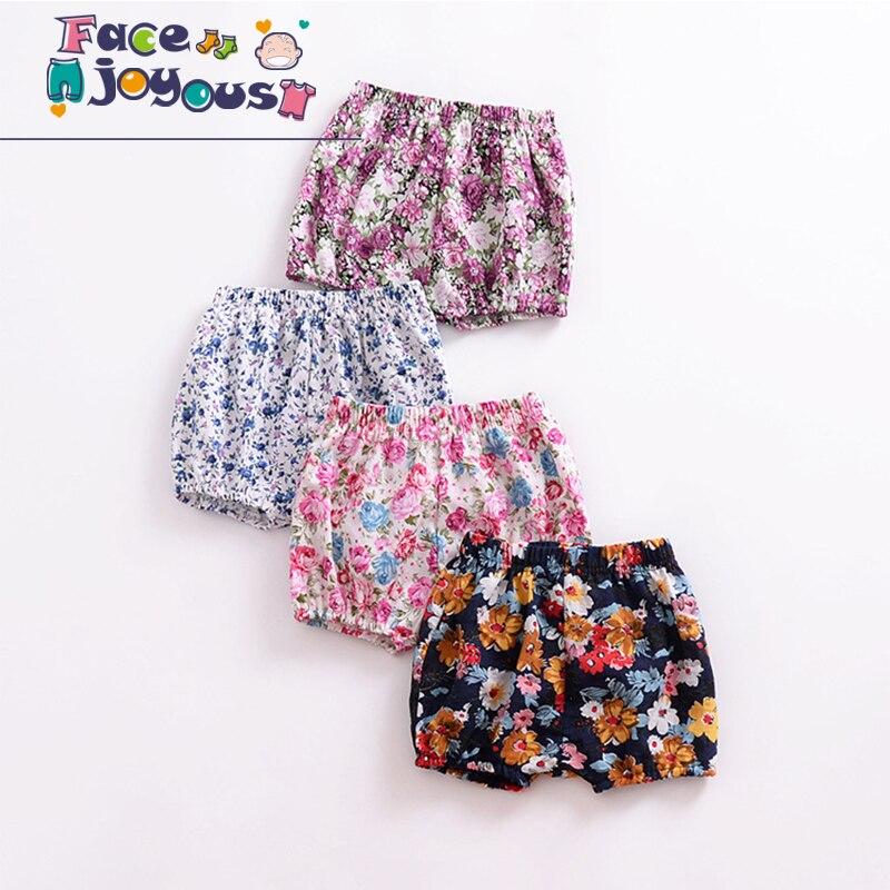 0 Zu 3y Kleinkind Kinder Baby Mädchen Shorts Heißer Verkauf Floral Gedruckt Harem Kurze Hosen Hosen Leggings Baby Pp Shorts