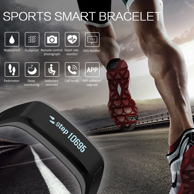 Hot Sale XR01 Smart Bracelet Wristband Fitness Tracker Android Bracelet Smartband Heart rate Monitor PK xiaomi mi band 2