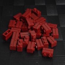 1000pcs Wine Red Legoing Part 1X2 MOC Basic Pieces Component City House Wall building Block Bricks Educational Toy Children