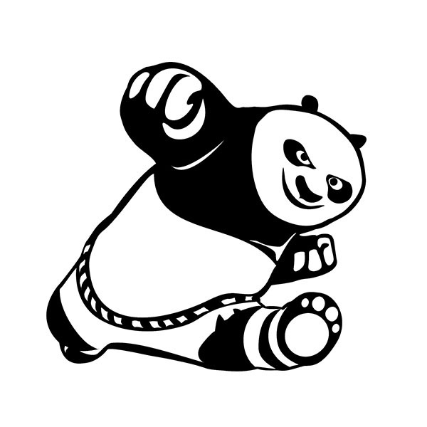 Terbaru Panda Gambar Kartun Lucu Hitam Putih Terupdate