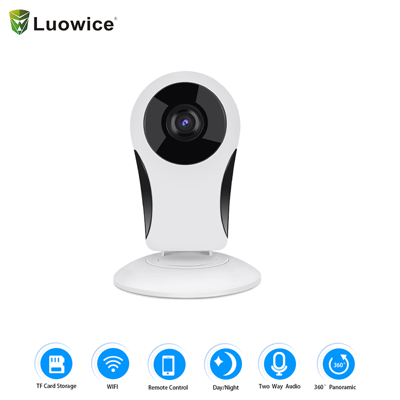 New Lovely Shape Home Security Camera 360 Degree Panorama 200w VR 960P HD Camera Wireless fisheyes WIFI IP Camera цена и фото