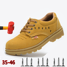 2019 Summer Breathable Lightweight Outdoor Sports Shoes Anti-mite Puncture Safety Casual Non-slip Wear Mens Boots