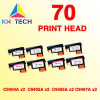 2set 8pcs Print Head Compatible For Hp70 Designjet Z2100 Z5200 Z3100 Z3200