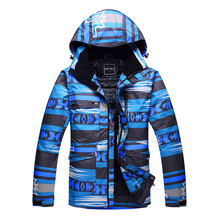 Brands Outdoor Sports Snowboard Skiing Clothing 10K Waterproof&Windproof -30 Warm Overcoat Winter Snow Costume for Men Clothing