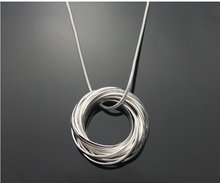 Free shipping fashion necklace,925 silver jewelry necklace.fashion jewelry necklace.silver necklace.wholesale price! RM04