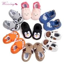 Детская обувь девочек мальчиков первые ходунки новорожденных тапочки для маленьких девочек детская обувь для малышей 0-18 м