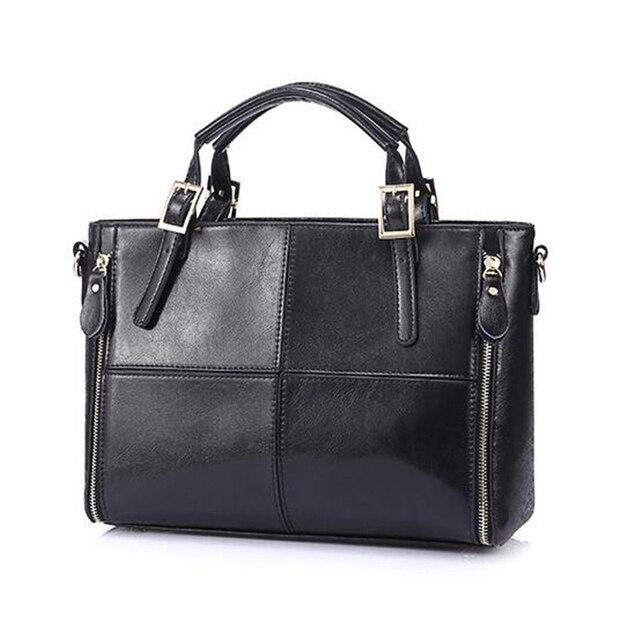 Hot Sale 2017 PU Leather Ladies Handbags Woman Single Shoulder Bag Famous Designer Handbags European American Female Bag B413