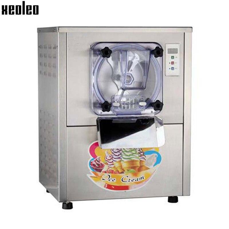 Xeoleo Hard Ice cream maker Commercial Ice cream maker 20L/H 1400W Italian ice cream 220V R22 Air-cooling Stainless steel commercial hard ice cream machine 20l h ice cream maker stainless steel hard ice cream maker 1400w 220v 110v r22 r404a