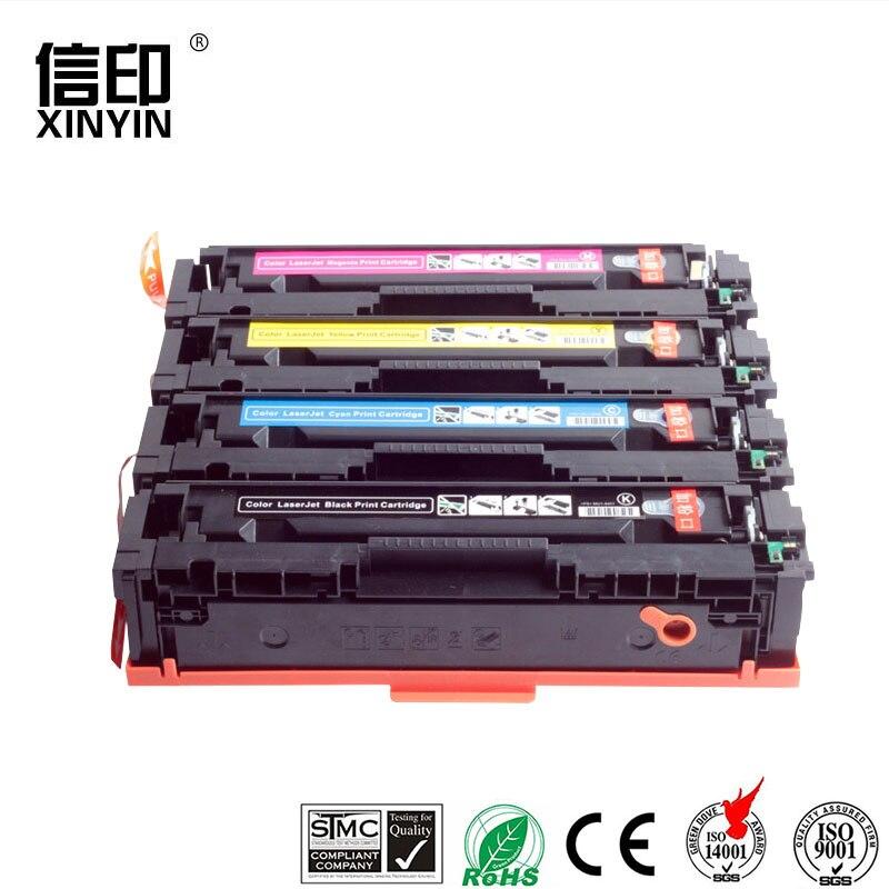 XColor 4PK 410A 410X CF410A CF410X cartouche de toner compatible pour HP MFP Couleur M377dw M477fdn M477fdw M477fnw Imprimante