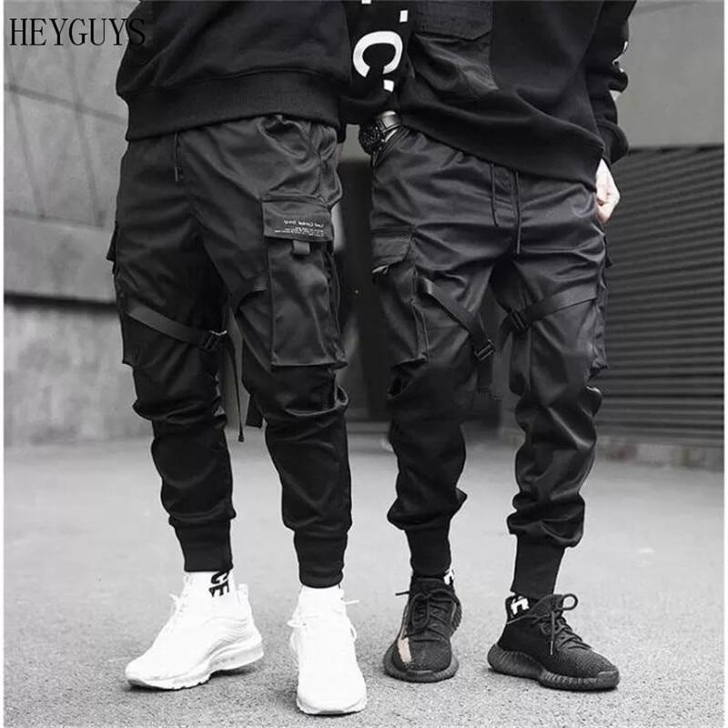 Men's Sweatpants Pocket Streamer Spring Elastic-Waist NEW Harlan And Summer