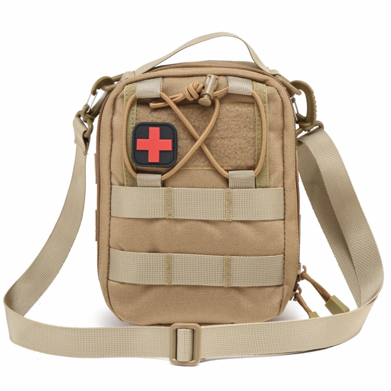 US $11 97 5% OFF|CQC Outdoor Military Tactical Molle Utility EDC Tool Waist  Pack IFAK EMT Medical First Aid Pouch Hunting Shoulder Bag-in Hunting Bags