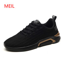Hidden Height Increasing 6cm Sneakers Men 2018 Trainers Mens Casual Shoes Fashion Breathable Leather+Mesh Summer Flat