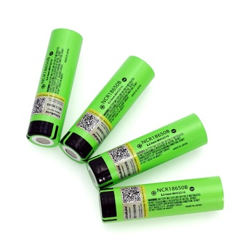 4PCS 2018 Liitokala original 18650 3400mAh lithium ion battery NCR18650B 3.7V 3400 battery Replacement Batteries