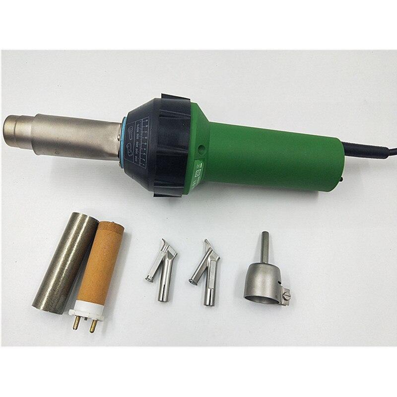 Aria calda di plastica pistola di saldatura kit In Vinile Esplosione Caldo Torcia PP/LDPE/PVC geomembrana IN HDPE saldatore ad aria calda ventilatore heat gun TPO tetto