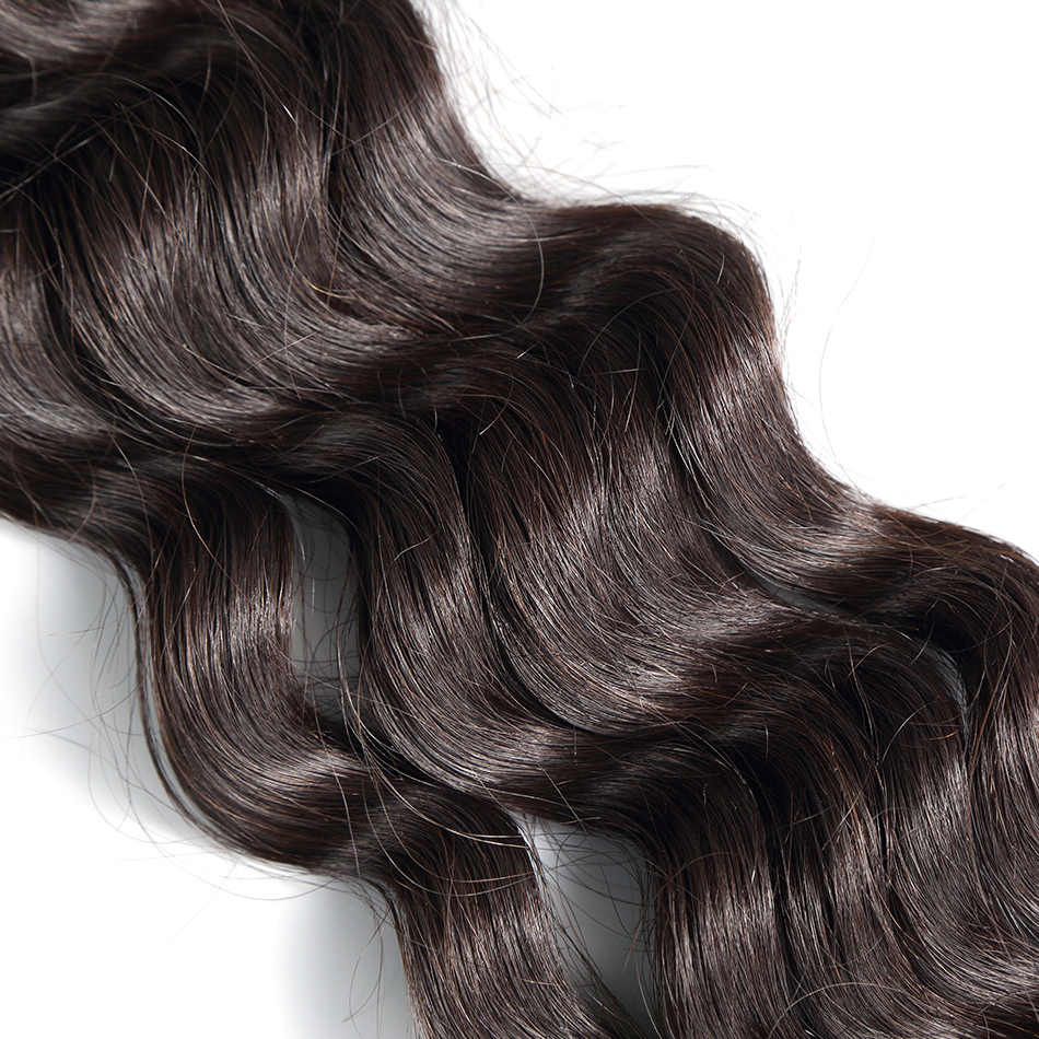 """Pelo ILARIA 8A visón pelo virgen brasileño onda de agua 1 pieza Color Natural 10 """"-30"""" brasileño sin procesar paquete de cabello humano"""