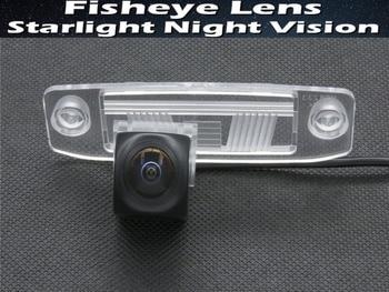 1080P אור כוכבים MCCD Fisheye עדשת רכב חניה אחורית מצלמה עבור יונדאי Elantra מבטא טוסון Veracruz סונטה Terracan