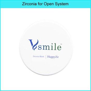 HT Dental Zirconia Block Open CAD/CAM System High translucent zirconia 98/95/71 mm, Super High translucensy for full contour