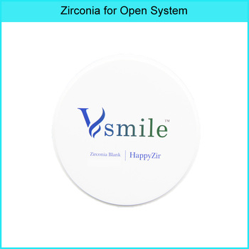 Multilayer Zirconia Block ST ML for Open CADCAM System DentalZirconiaBlocks with high strength a1 a2 st multilayer super translucency cadcam 95mm for zirkonzahn systemdentalzirconiablocksfor dental lab
