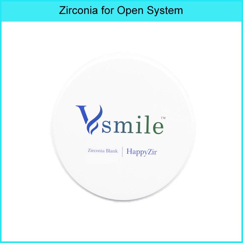 o material dental dos blocos da zirconia da came do cad de vsmile disco super do